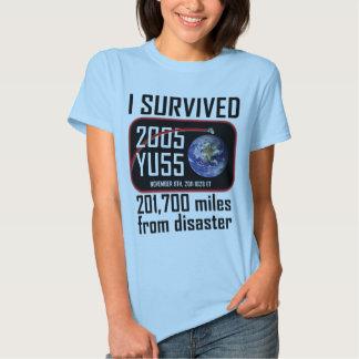 I Survived 2005 YU55 Tshirt