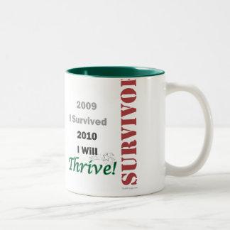 I Survived 2009 Mug