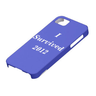 I survived 2012 iPhone 5 case