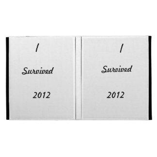 I survived 2012! iPad folio cases