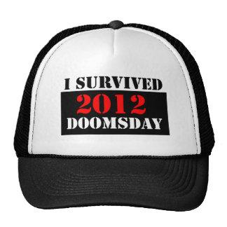 I Survived 2012 Doomsday Cap Trucker Hat
