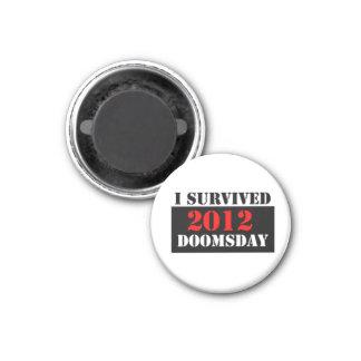 I Survived 2012 Doomsday Magnet