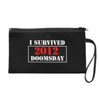 I Survived 2012 Doomsday Wristlet