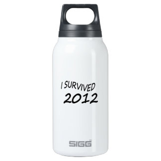 I Survived 2012 Insulated Water Bottle