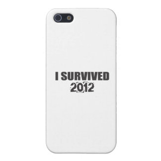 I Survived 2012 Cases For iPhone 5