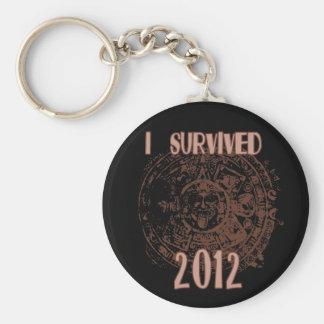 I Survived 2012 Keychain