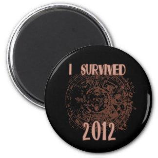I Survived 2012 Magnet