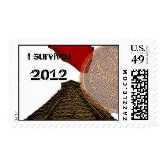 I survived 2012 postage stamps