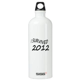I Survived 2012 SIGG Traveler 1.0L Water Bottle