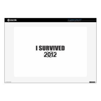 "I Survived 2012 15"" Laptop Decals"