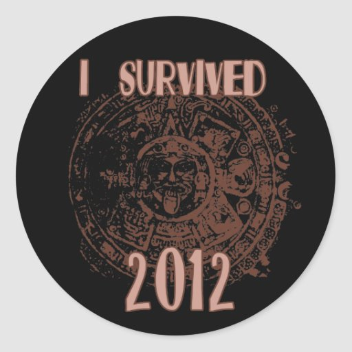 I Survived 2012 Sticker