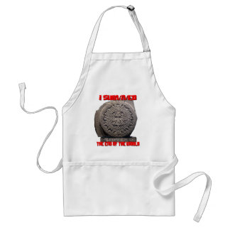 I SURVIVED 2012 The End of The World Apron