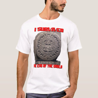 I SURVIVED 2012 The End of The World T-Shirt