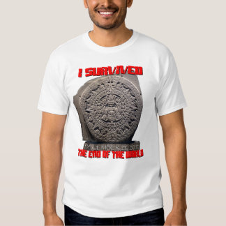 I SURVIVED 2012 The End of The World T-shirts