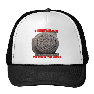 I SURVIVED 2012 The End of The World Trucker Hat