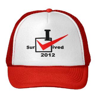 I Survived 2012 Trucker Hat