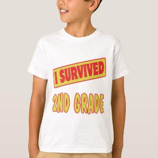 I SURVIVED 2ND GRADE T-Shirt