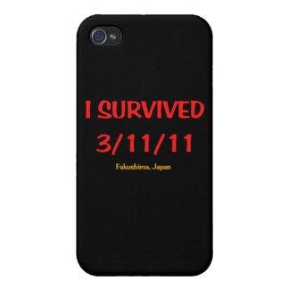 I Survived 3 11 11 March 11 2011 iPhone 4 Case