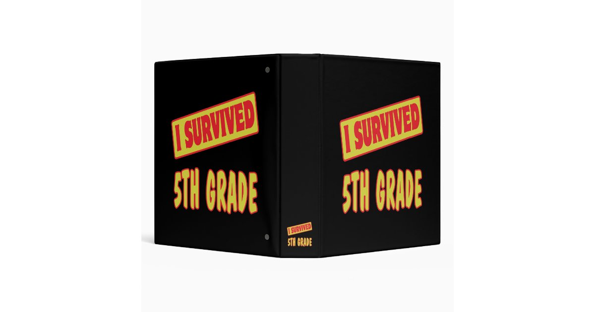 i survived sisxth grade anonymous 9/24/13 i survived 6th grade my experience for 6th grade was great my first day at portola middle school was horrible and terrifying.