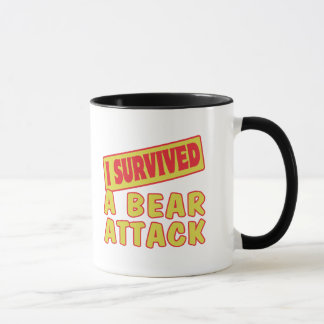 I SURVIVED A BEAR ATTACK MUG
