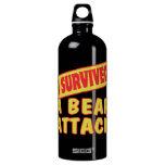 I SURVIVED A BEAR ATTACK SIGG TRAVELER 1.0L WATER BOTTLE