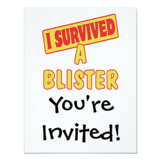 I SURVIVED A BLISTER CARD