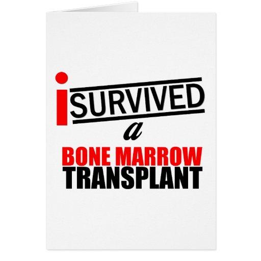 I Survived a Bone Marrow Transplant Greeting Card