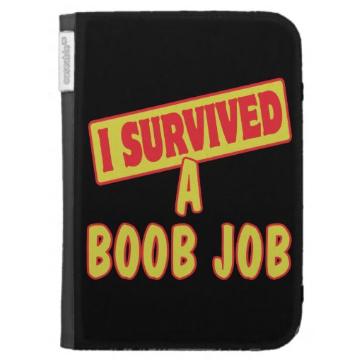 I SURVIVED A BOOB JOB CASES FOR THE KINDLE
