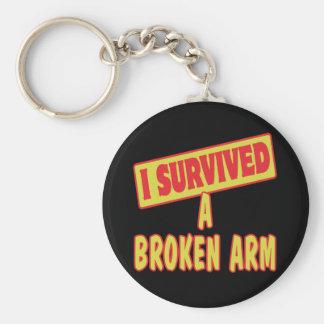 I SURVIVED A BROKEN ARM KEYCHAIN