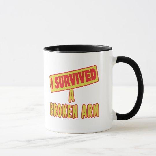 I SURVIVED A BROKEN ARM MUG