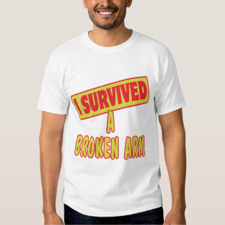I SURVIVED A BROKEN ARM T-SHIRT