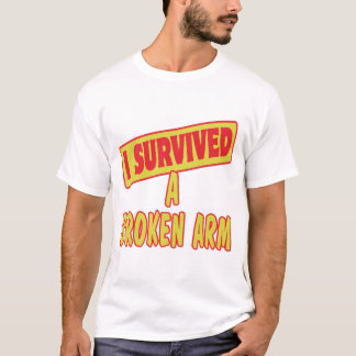I SURVIVED A BROKEN ARM T-Shirt