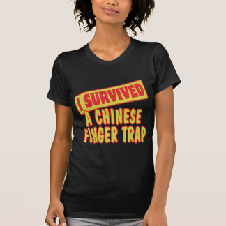 I SURVIVED A CHINESE FINGER TRAP SHIRTS
