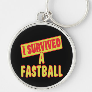 I SURVIVED A FASTBALL KEY CHAIN