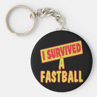 I SURVIVED A FASTBALL KEYCHAINS