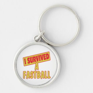 I SURVIVED A FASTBALL KEY CHAINS