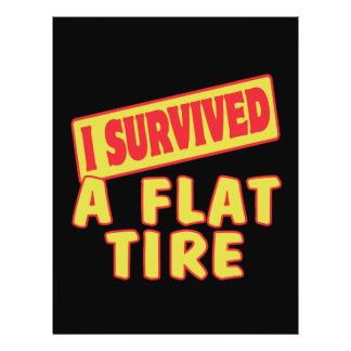 I SURVIVED A FLAT TIRE FLYER