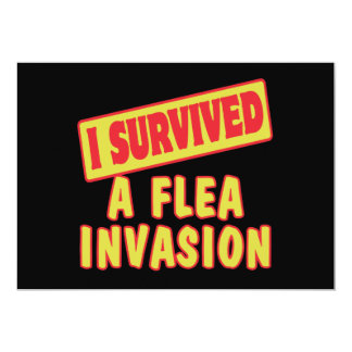 I SURVIVED A FLEA INVASION ANNOUNCEMENT