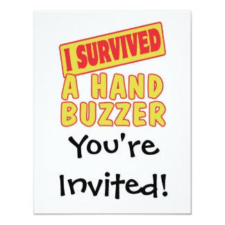 I SURVIVED A HAND BUZZER CARD