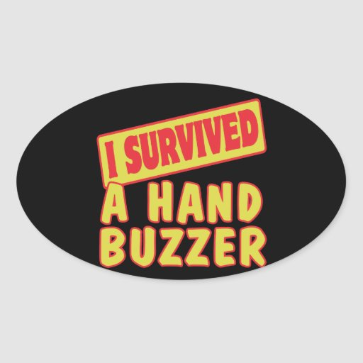 I SURVIVED A HAND BUZZER STICKERS