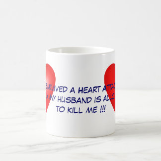 I survived a Heart Attack Coffee Mug