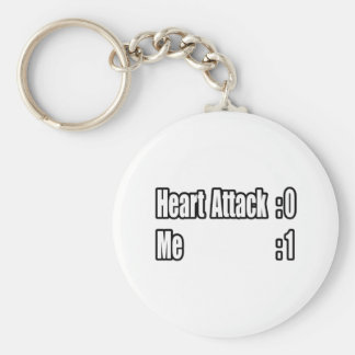I Survived a Heart Attack (Scoreboard) Keychain