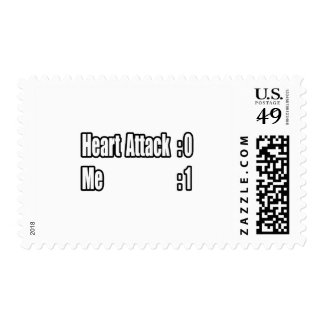 I Survived a Heart Attack (Scoreboard) Postage