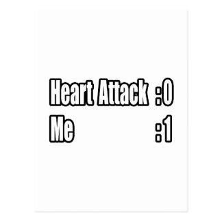 I Survived a Heart Attack (Scoreboard) Postcard