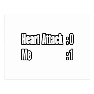 I Survived a Heart Attack (Scoreboard) Post Cards