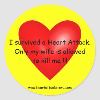 I survived a Heart Attack Stickers