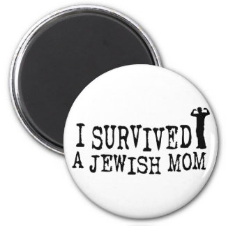 I Survived a Jewish mom - Jew humor Magnet