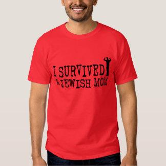 I Survived a Jewish mom - Jew humor Tshirts