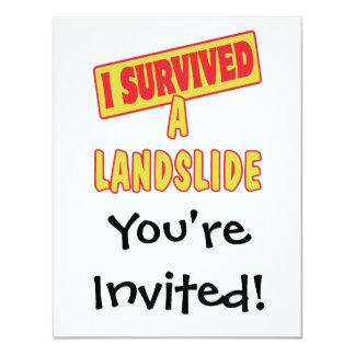 I SURVIVED A LANDSLIDE CARD
