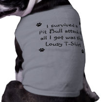 I Survived a Pit Bull Attack... Tee